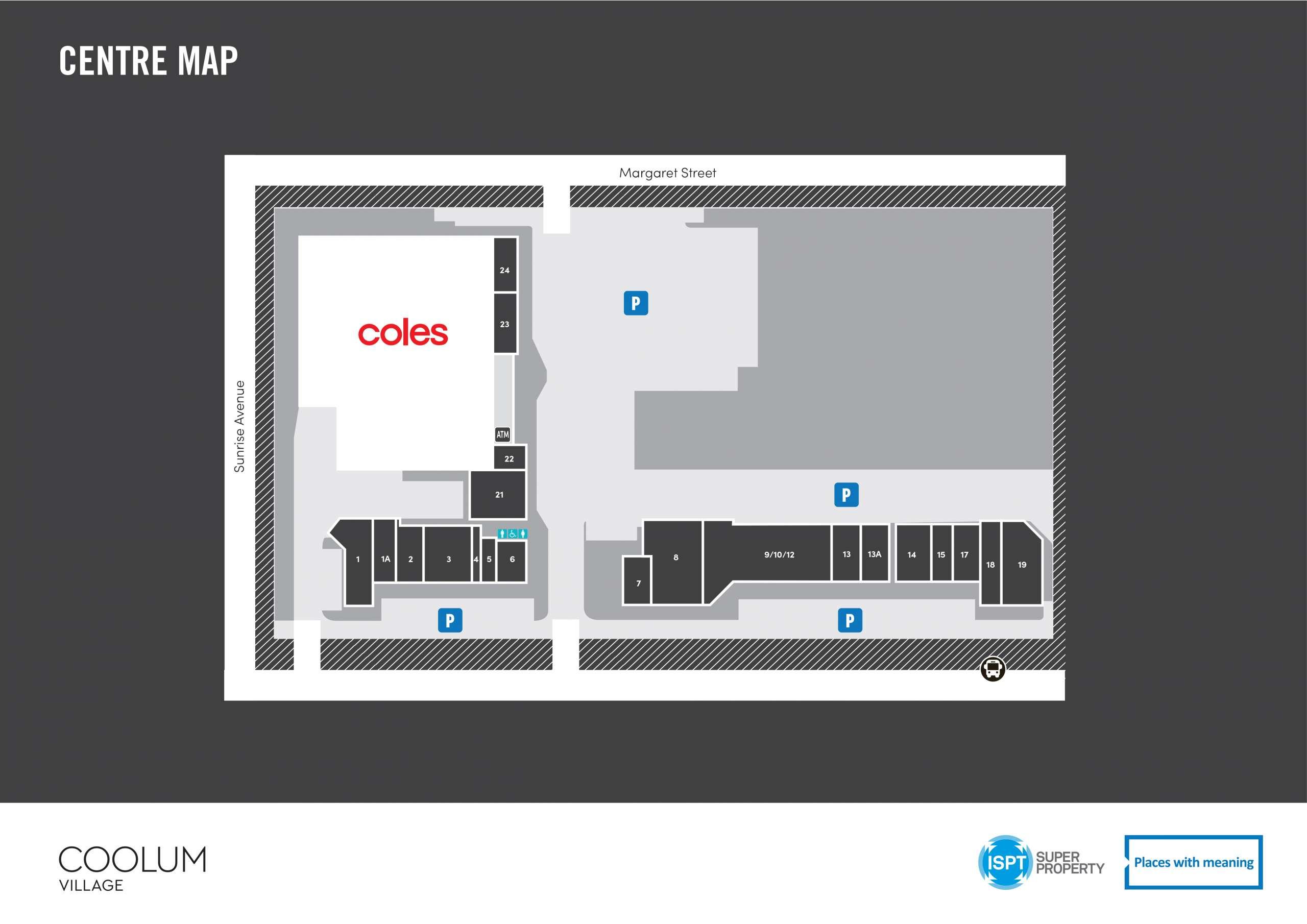 Coolum Village Centre Map